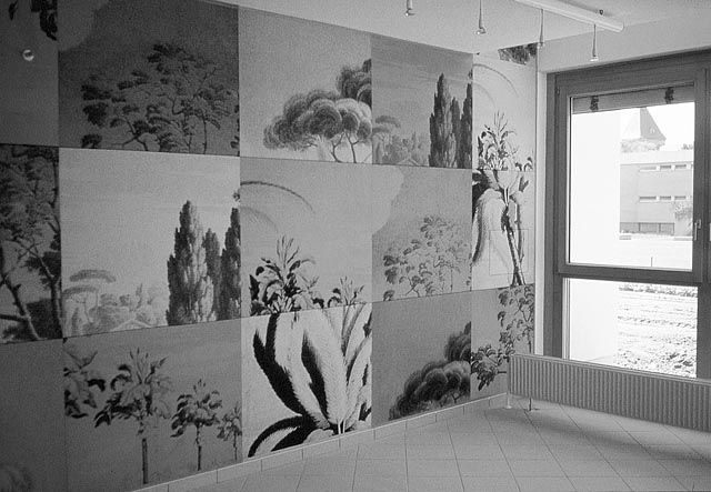 sigrid kurz, mural for the lower austrian old peoples